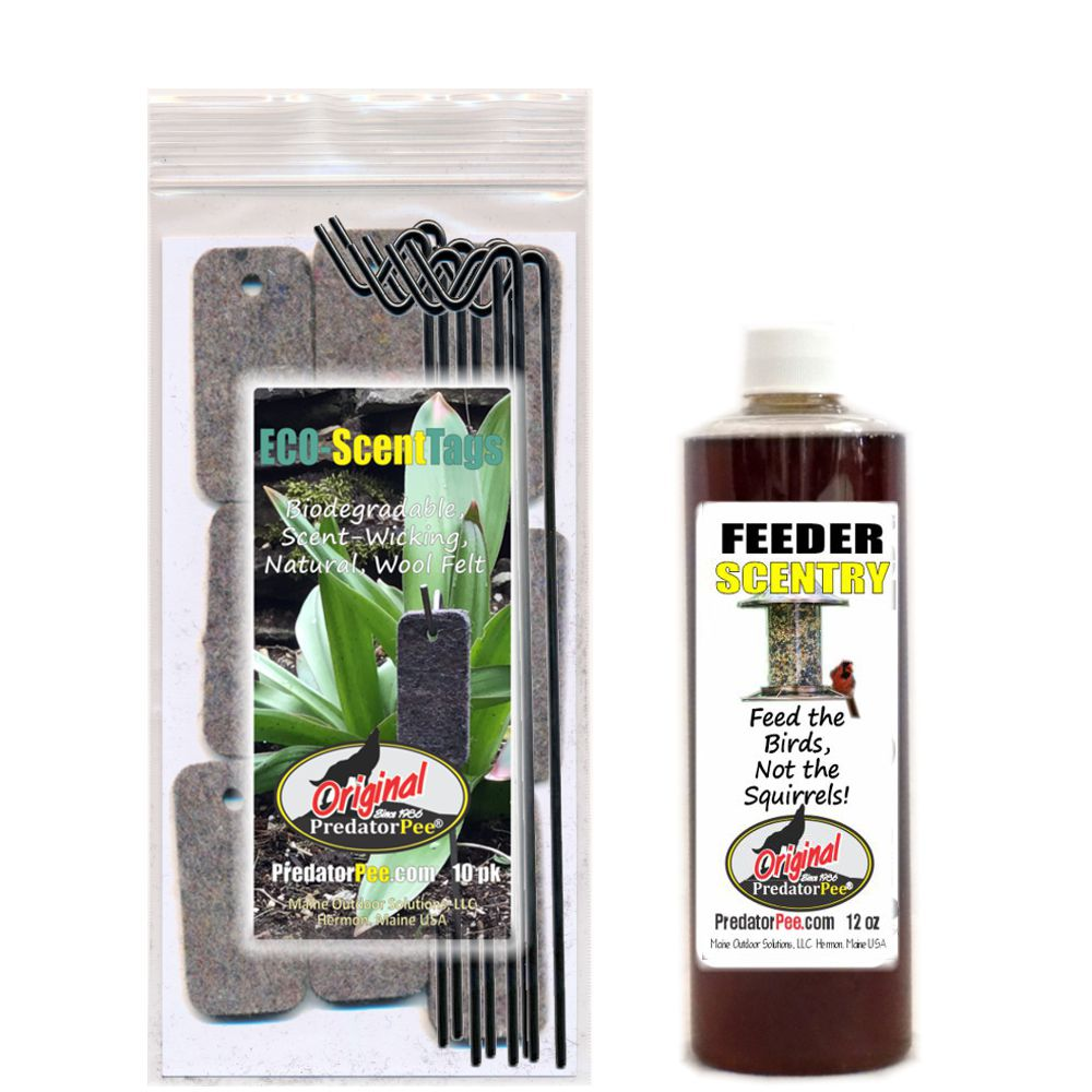PredatorPee FeederScentry  12oz Eco-Tag Combo