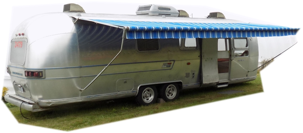 PeeMan's Vintage Airstream Travel Trailer