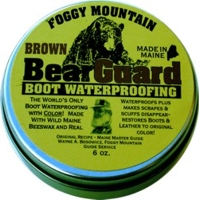 BearGuard - BROWN - Big Fat 6 oz Tin!