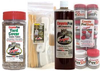 Coyote Urine Outdoor-Indoor Combo Pack - Save $10!