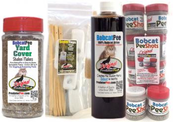 Bobcat Urine Outdoor-Indoor Combo Pack - Save $16!