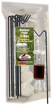33 Day Dispensers - 10 pack dispensing vials