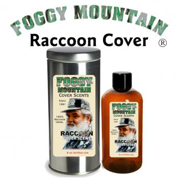 Foggy Mountain Raccoon Cover Scent