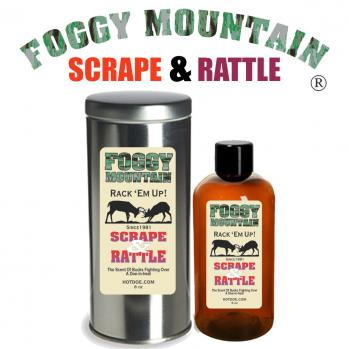 Foggy Mountain Scrape & Rattle Buck Lure