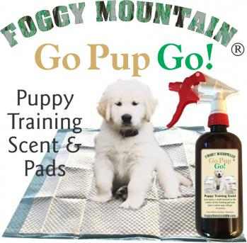 Foggy Mountain Go-Pup-Go 30 Day Puppy Training Kit