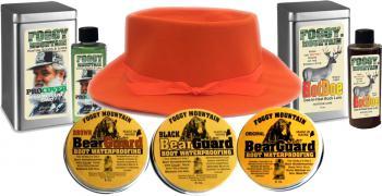 Foggy Mountain Head, Boot & Buck Maine Hunters Christmas Gift Pack