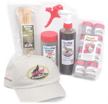 PredatorPee® Christmas Gift Pack with PredatorPee® Hat