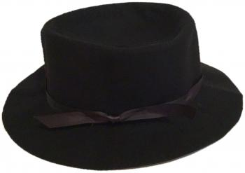 Midnight Black Crusher Hat