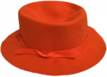 Blaze Orange Crusher Hat