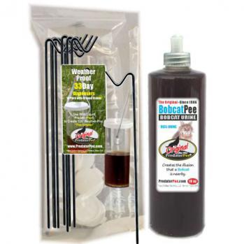 Bobcat Urine 16 oz - Dispenser Combo