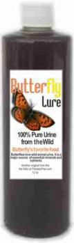 Butterfly Lure - Pure Urine from the Wild - 12oz Bottle