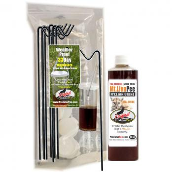 Mountain Lion Urine 12 oz - Dispenser Combo