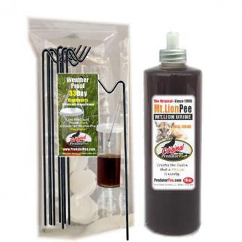 Mountain Lion Urine 16 oz - Dispenser Combo