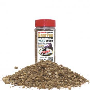 Bear Urine 16 oz Yard Cover Shakin' Flake Granules (200 sq ft/ jar)