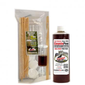 Coyote Urine 12 oz - 33 Day Dispenser Combo