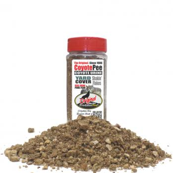 Coyote Urine 16 oz Yard Cover Flakes