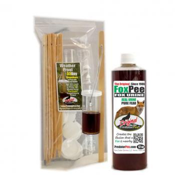 Fox Urine 12 oz - 33 Day Dispenser Combo