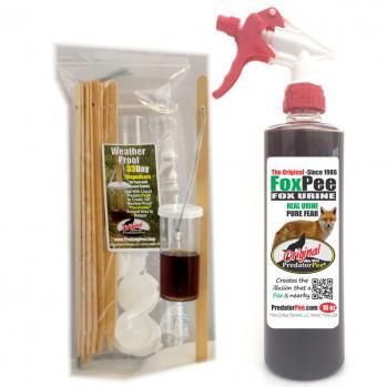 Fox Urine 16 oz - Dispenser Combo
