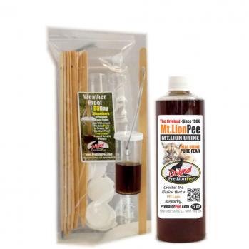 Mountain Lion Urine 12 oz - Dispenser Combo