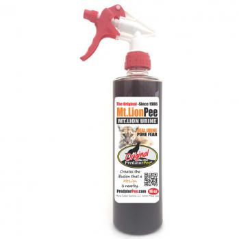 Mountain Lion Urine 16 oz Trigger Spray Bottles
