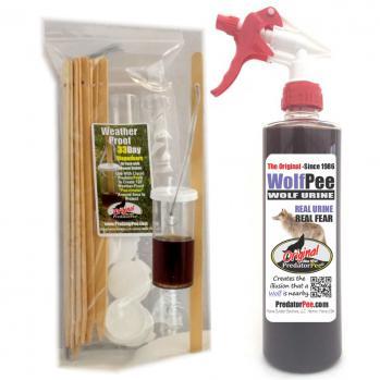 Wolf Urine 16 oz - Dispenser Combo