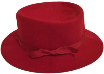 Traditional Red Crusher Hat