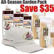 Mountain Lion Pee All Season Scent Tag Garden Pack - Save $35!