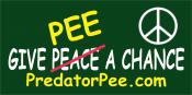 Give-Pee-a-Chance-bumper-sticker